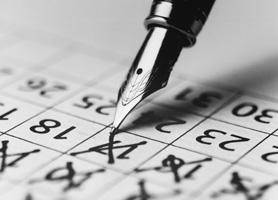 Daňový kalendář 2015