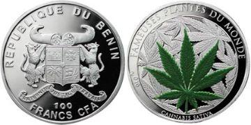 100 CFA Franků
