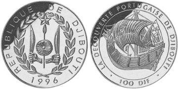 100 Franků 1996