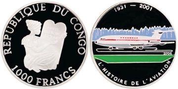 1000 Franků