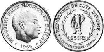 25 Francs