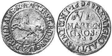 6 Marien Grošů 1689