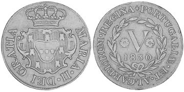 5 Reis 1830