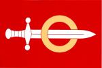 Vlajka Hrochův Týnec