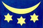 Vlajka Velká Bystřice
