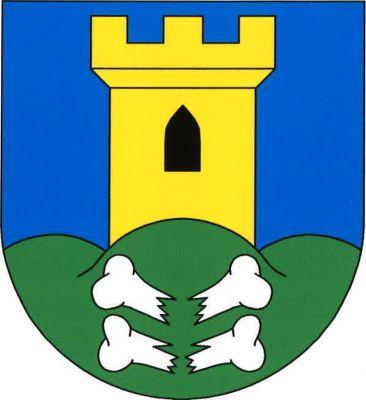 Znak Kostomlaty pod Milešovkou