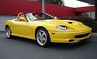 550 Barchetta Pininfarina